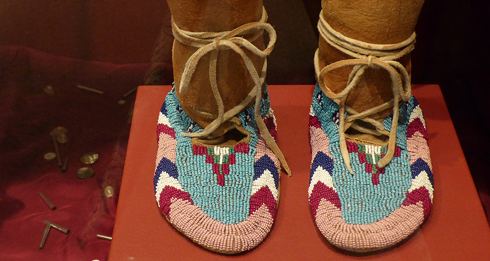 by hand through memory exhibit Native American
