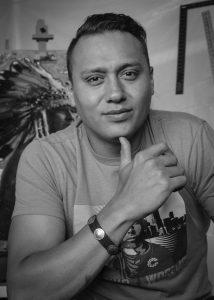 Crow/Northern Cheyenne artist Ben Pease